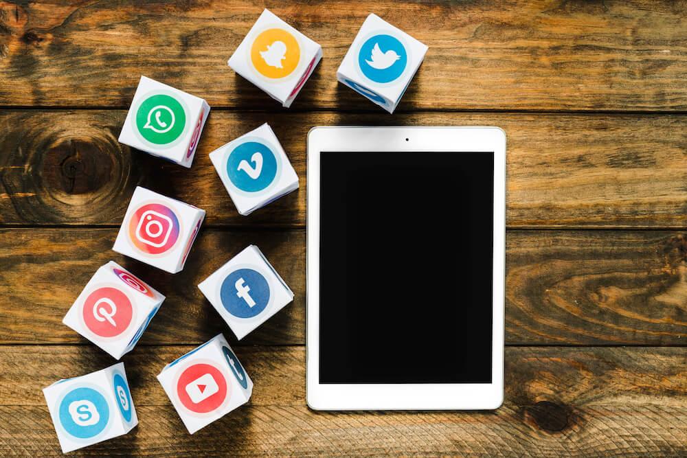 social media koppelen